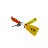 Bag To Life Captains Keychain / Key Holder - Yellow | Aviamart