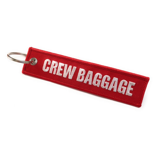 Crew Baggage / Do Not Offload Luggage Tag | Embroidered Crew Tag