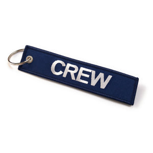 Crew Tag | Navy/White |100% Embroidered | Aviamart