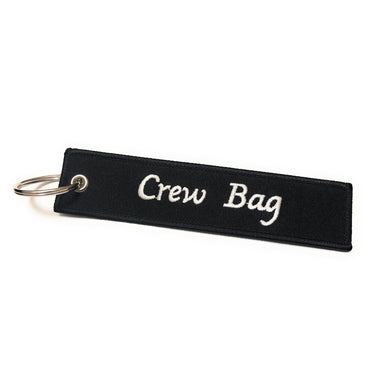 Crew Tag | Crew Bag | Black/White | Aviamart