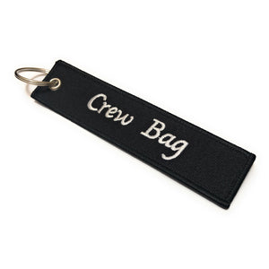 Crew Tag | Crew Bag | Black/White