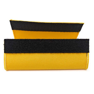 Crew Luggage Handle Wrap - Yellow / Black | Aviamart