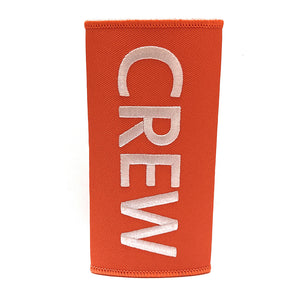 Crew Luggage Handle Wrap - Orange/ White | Aviamart