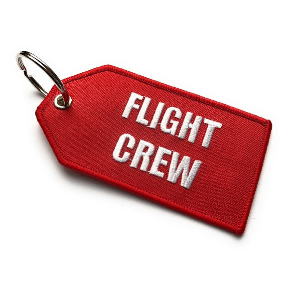 Flight Crew / Do Not Remove From Aircraft Luggage Tag | Medium | Red / White | Aviamart