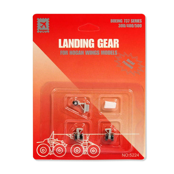 Hogan Wings B737-3/4/500 Replacement Landing Gear Set | 1/200 Scale | H5224R | Aviamart