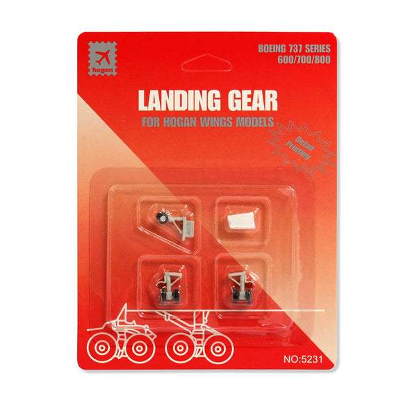 Hogan Wings B737-6/7/800 Replacement Landing Gear Set | 1/200 Scale | H5231R | Aviamart