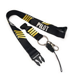 Pilot Lanyard  with 4 Gold Stripes | Aviamart