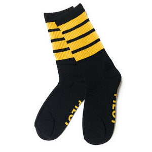 Pilot Men's Socks | Organic Cotton | 4 Stripes  | UK Size 9-11