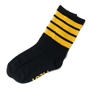 Pilot Men's Socks | Organic Cotton | 4 Stripes  | UK Size 9-11 | Aviamart