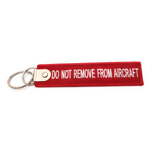 Premium Cabin Crew / Do Not Remove From Aircraft Luggage Tag - Red / White | Aviamart