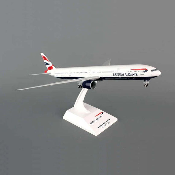 Skymarks British Airways B777 Model Airplane 1/200 Scale Reg. G-STBA - SKR661