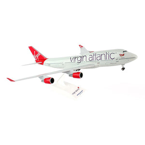 Skymarks Virgin Atlantic B747 Model Airplane 1/200 Scale Reg. G-VTOP - SKR672