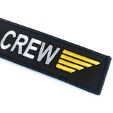 Air Crew Tag with Gold Wings | Aviamart