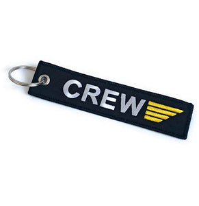 Crew Tag with Gold Wings | Aviamart