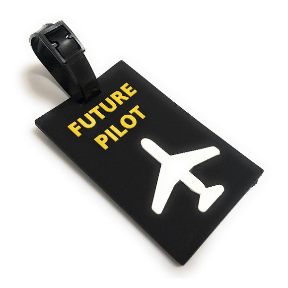 Future Pilot 2D Soft PVC Luggage Tag by aviamart® | Aviamart