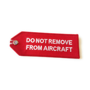Crew Luggage Tag | Do Not Remove From Aircraft | Size S