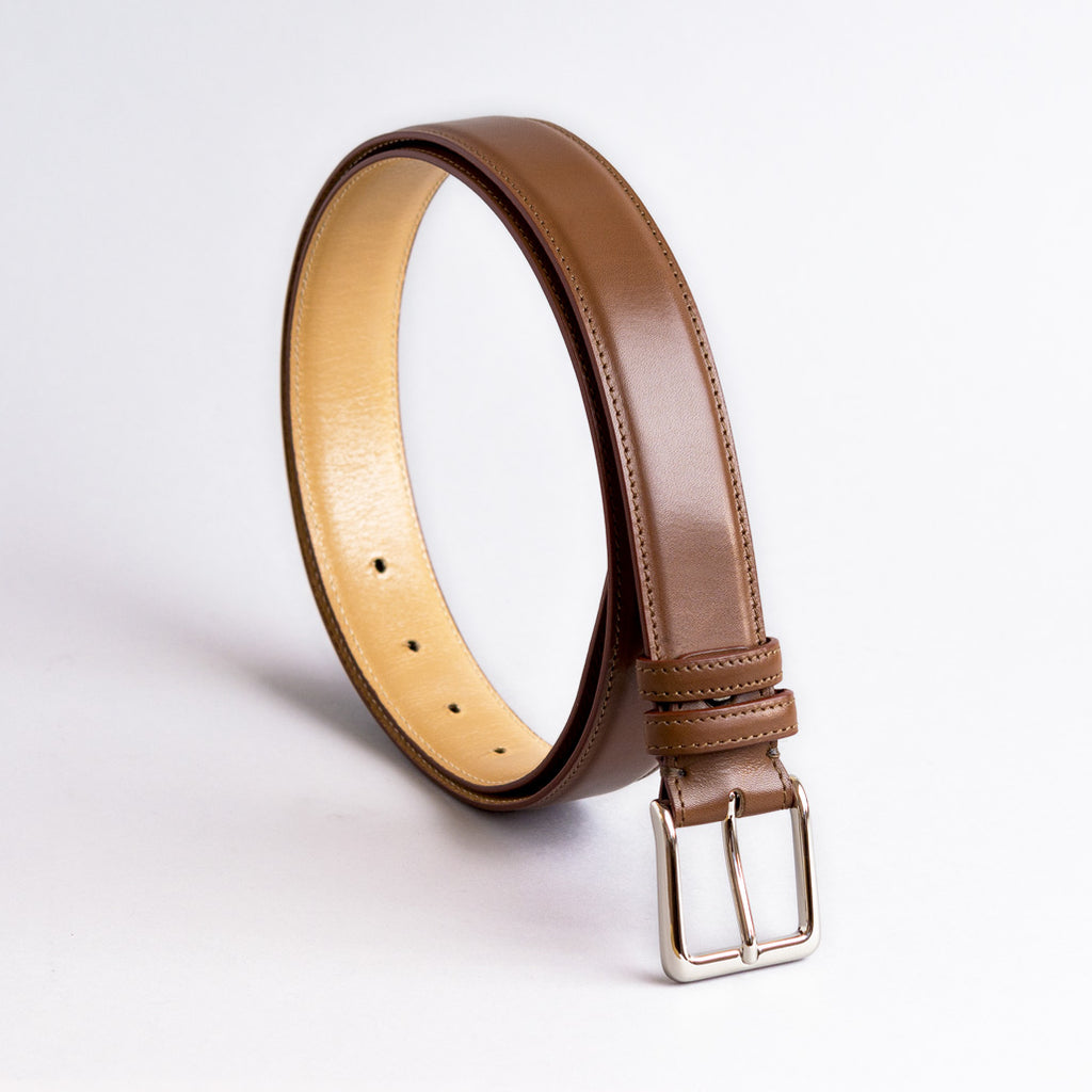 Jeeves Lined And Raised Leather Belts