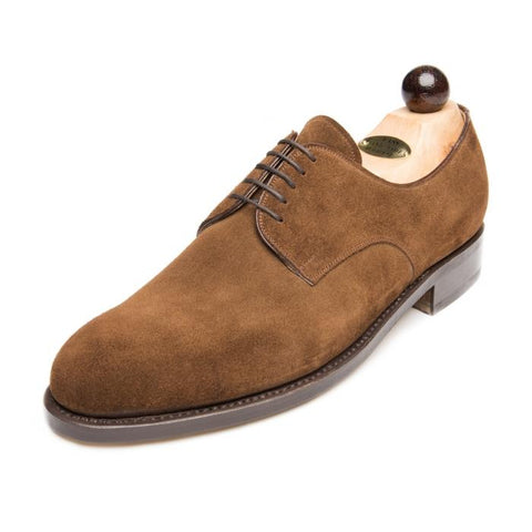 Vass London Mid Brown Suede New Peter Last