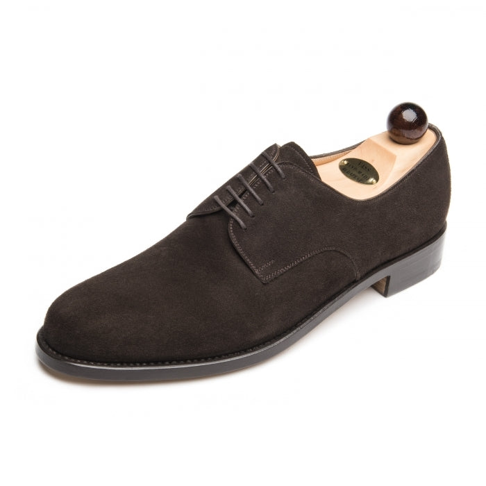 Vass London Dark Brown Suede New Peter Last