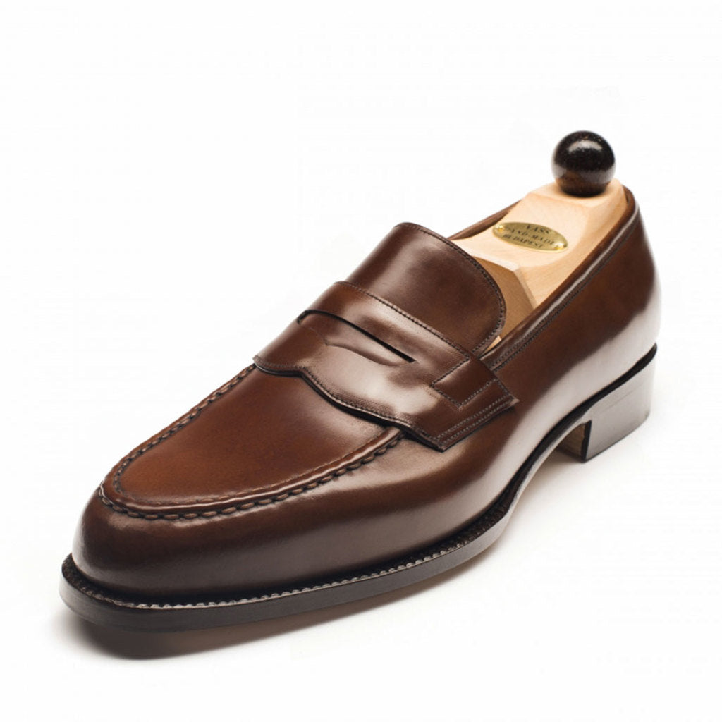1042 - Vass Slipper Antique Cognac Cordovan Peter Last