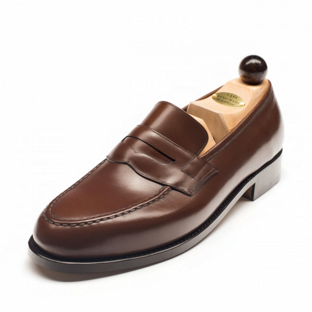1042 - Vass Slipper Bordeaux Calf