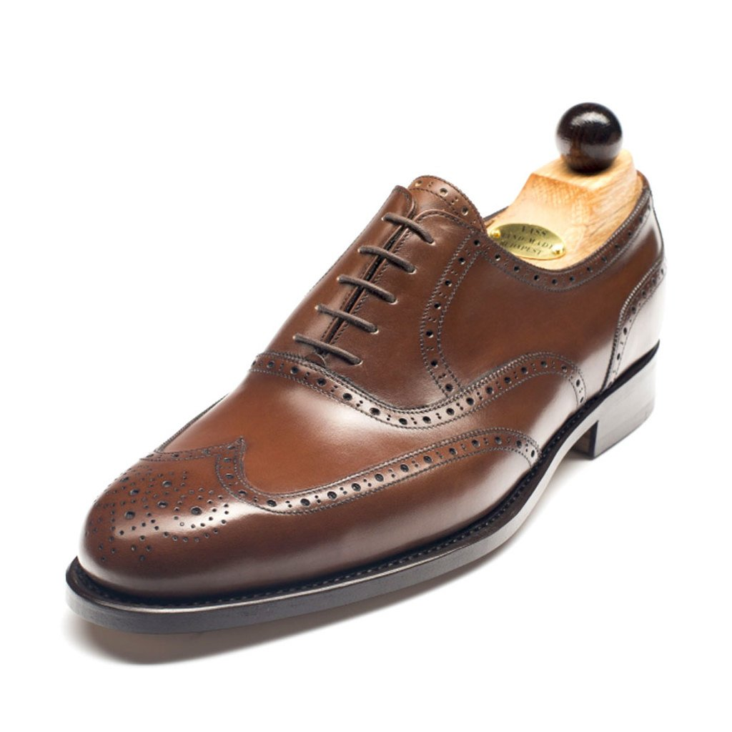 1050 - Vass Budapest Oxford Antique Cognac Calf