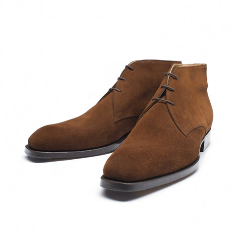 Vass Chukka Medium Brown Suede SP Last