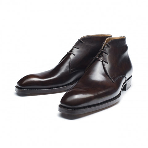 1085 - Vass Chukka Dark Brown Museum