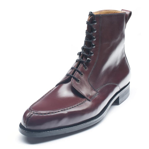 1090 - High Boot Bordeaux Calf P2 Last