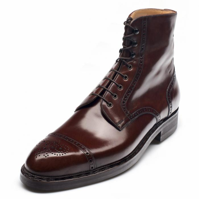 1180 - High Boot Antique Cognac Cordovan P2 Last
