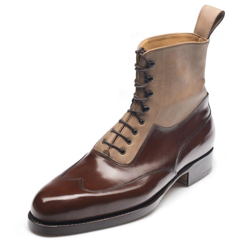 Vass High Boot Dark Cognac F Last