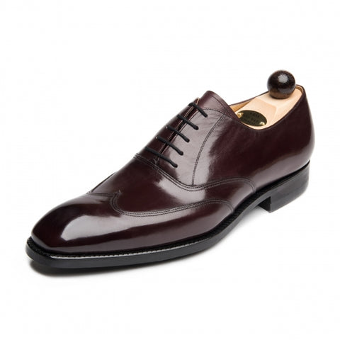 Vass Wingtip Oxford Burgundy Calf SP Last