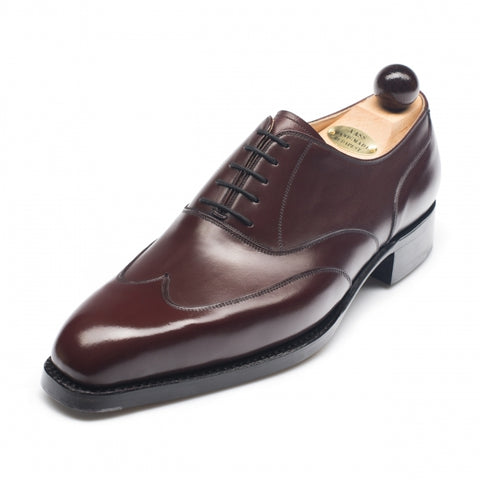 5075 - Vass Austerity Brogue Bordeaux Calf