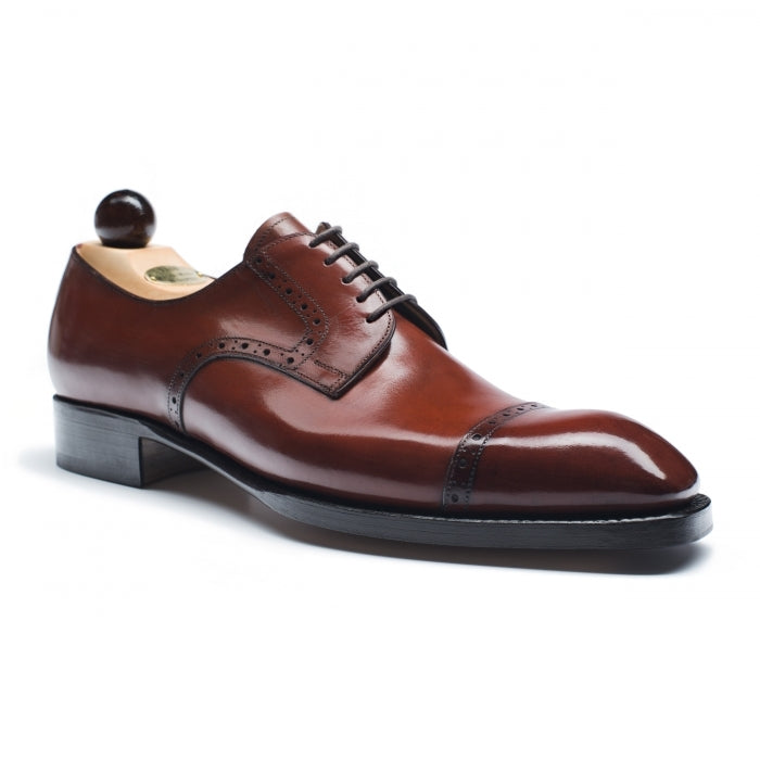 5100 - Vass Theresianer Red Cognac Calf SP Last