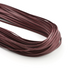 Flat Waxed Cotton Shoe Laces Bordeaux