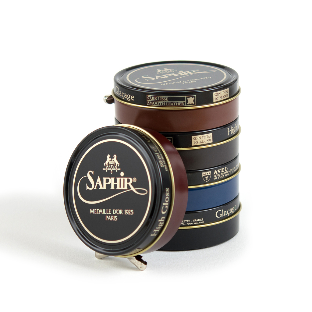 Saphir Medaille d'Or High Shine Shoe Wax Mahogany