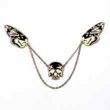Skull- Enamel Pin collar jewelry