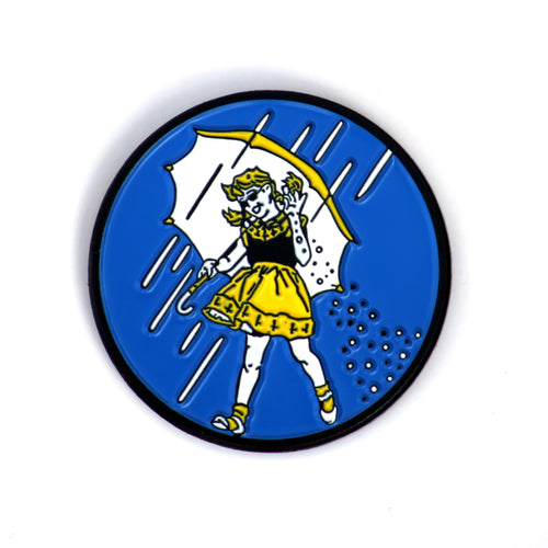 Morton Salt Bae Enamel Pin.