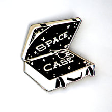 space case enamel pin
