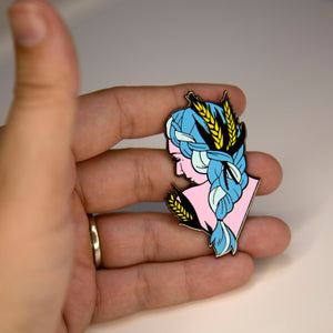 Zodiac Virgo Pin
