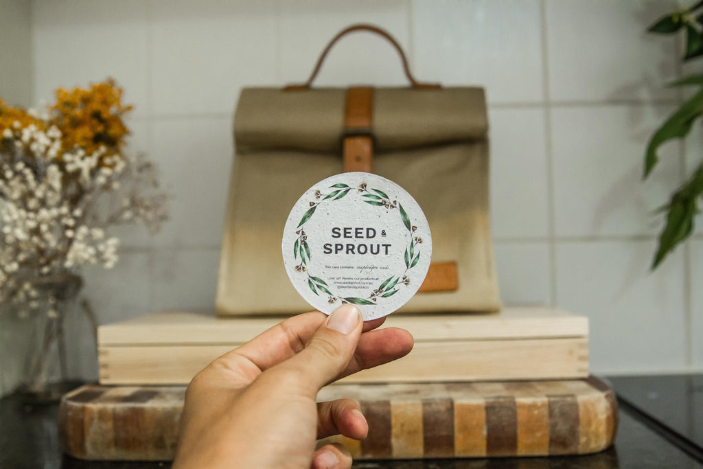 Snapdragon plantable seed card by Seed & Sprout Co Byron Bay