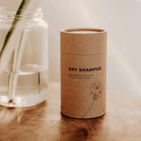 Seed & Sprout plastic free dry shampoo made in Australia