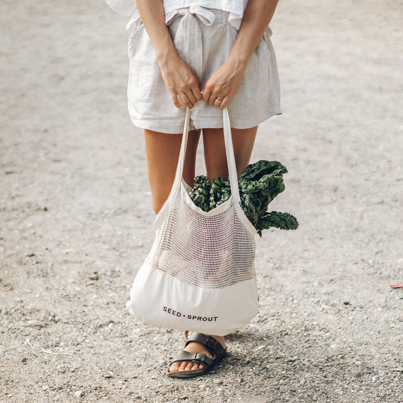 Farmers market bag set Mesh Tote