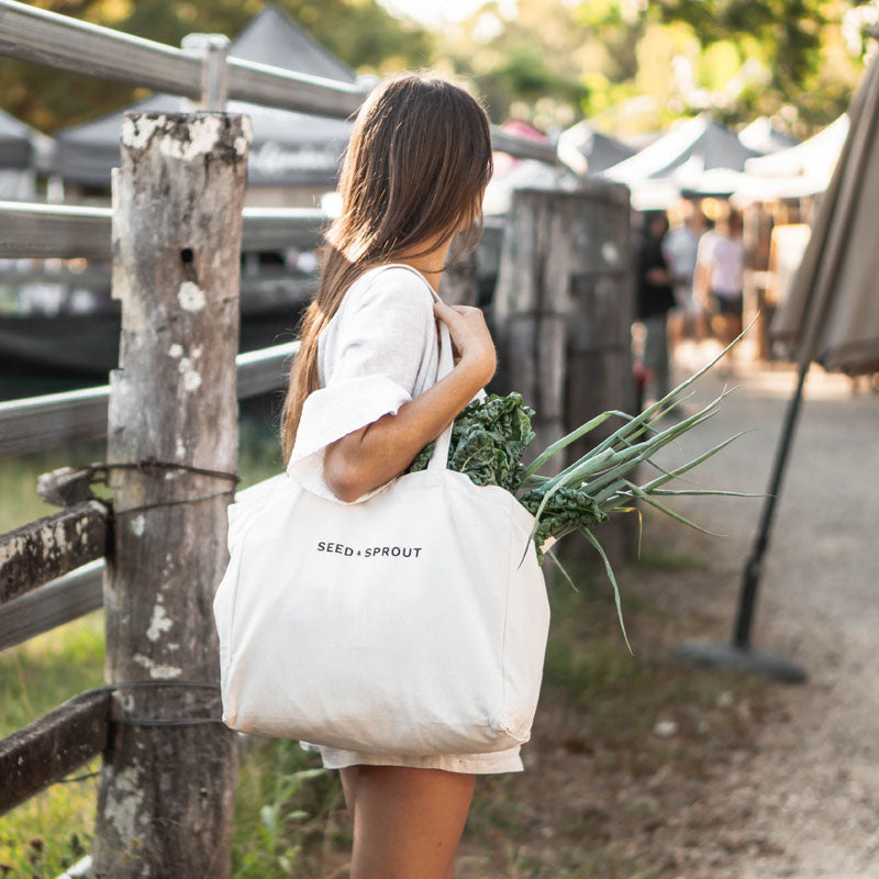 Farmers market shopping bag