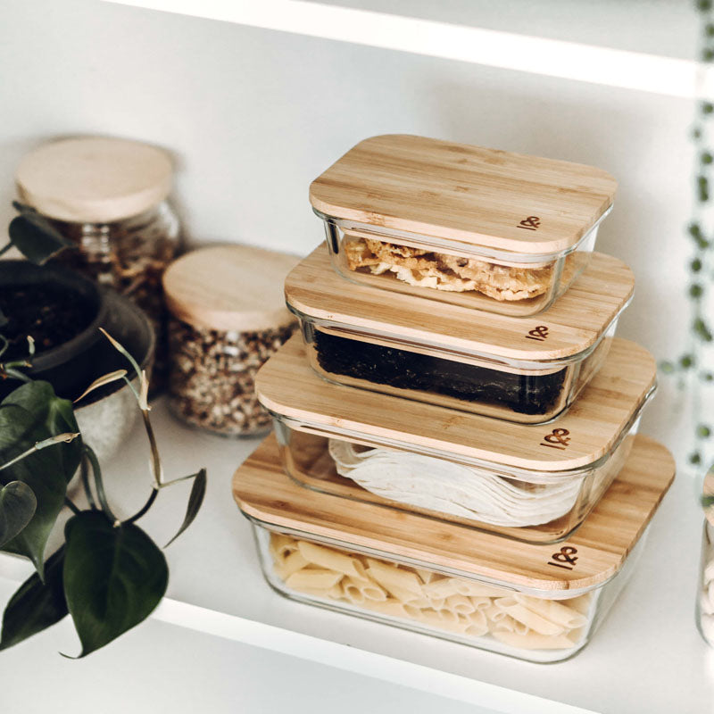 Plastic-free eco food containers
