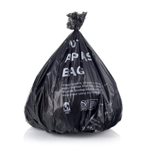 Compostable and 100% biodegradable bin rubbish garbage compost bags. Available in 4 sizes.