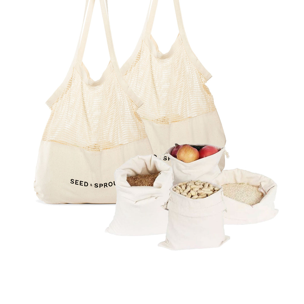 SAVE 40% Organic Cotton Shopping Bundle