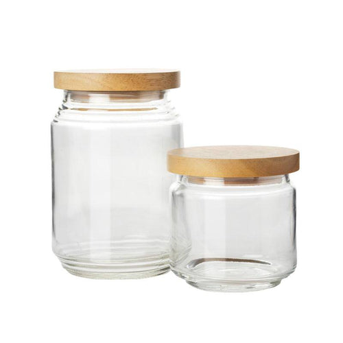 Pantry Jars - Set of 2