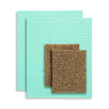 Compostable Kitchen Sponge Set
