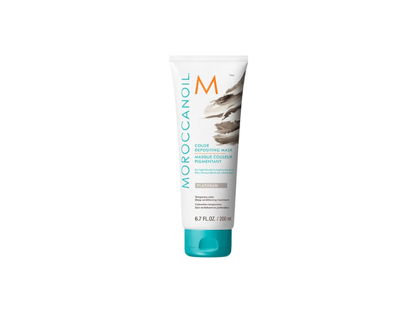 Moroccanoil Color Depositing Mask - Platinum - 200ml - Freshhair